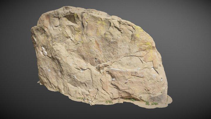 Stoney Point Boulder 3D Model