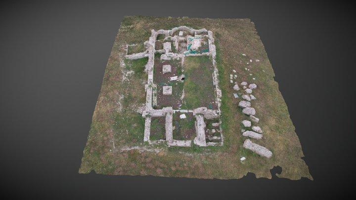 Cattedrale di Fiorentino (Torremaggiore, FG) 3D Model