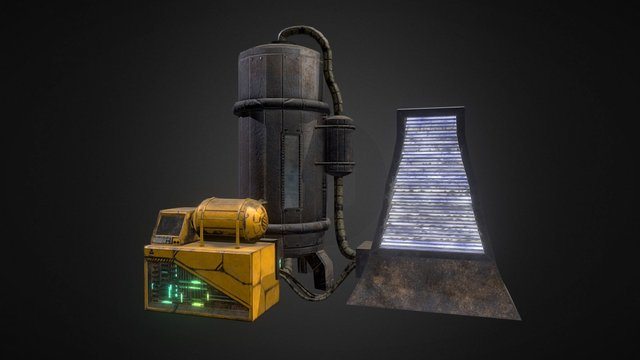 Machinery Windtrap 3D Model