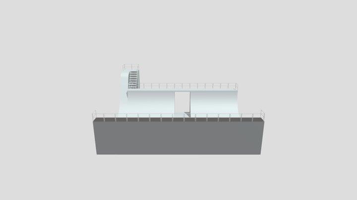 Assignment 3 - Skateboard Ramp 3D Model