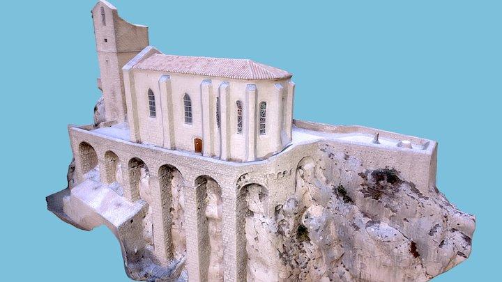 DRAFT: zoom  La Citadelle de Sisteron (France) 3D Model
