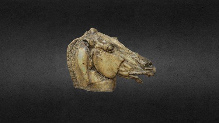Horse head, Parthenon, Phidias 3D Model