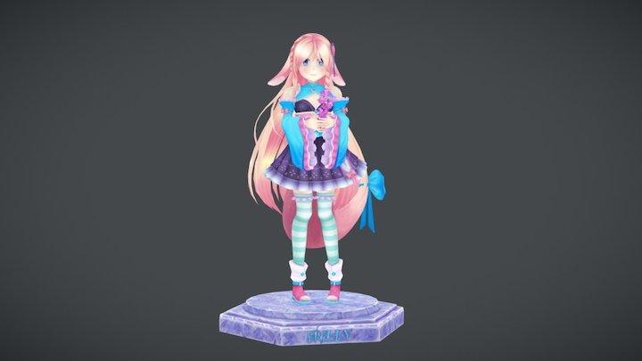 Chibi-Frilly 3D Model