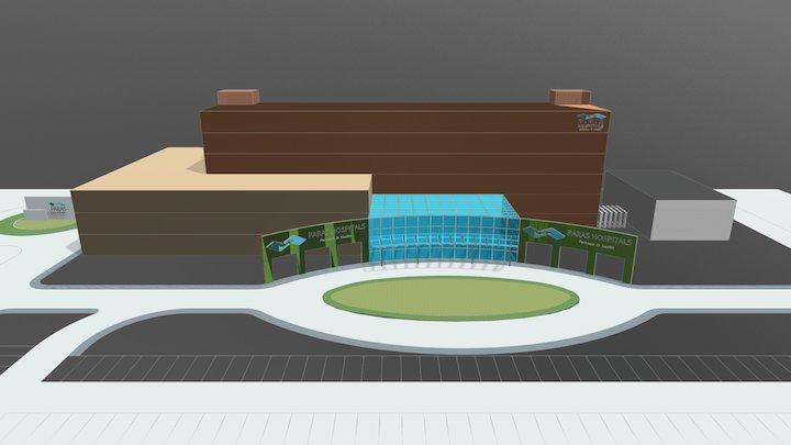 PARAS HOSPITALS , RANCHI 3D Model