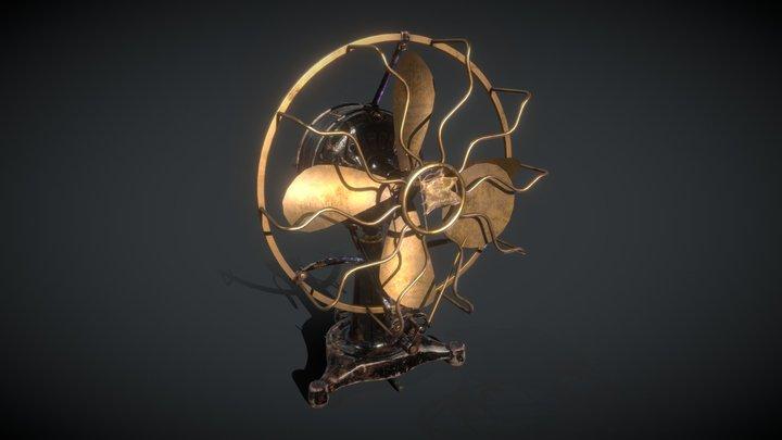 Antique Fan 3D Model