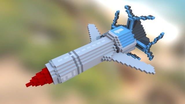 Thunderbird1 3D Model