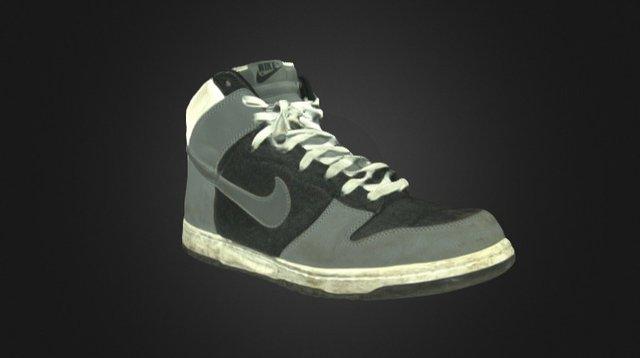 Nike Ayakkabi Artec 3D Model