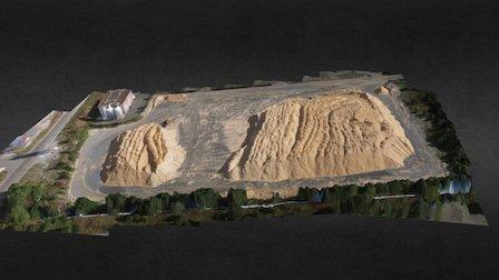 Cantera-minerales-no-metalicos-venezuela 3D Model