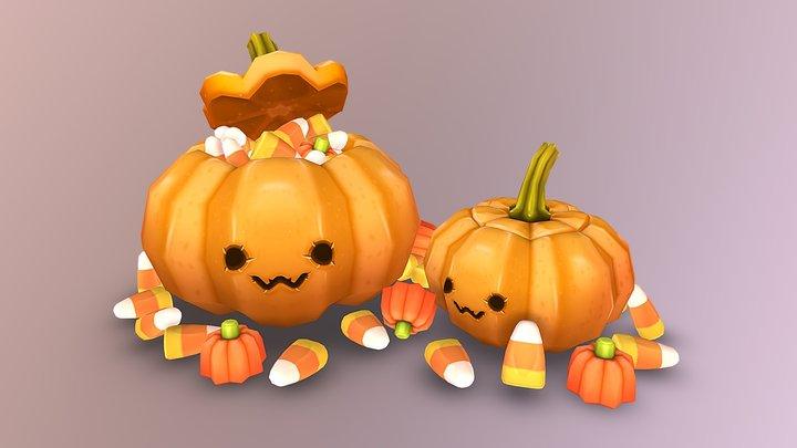 OwO Pumpkins 3D Model