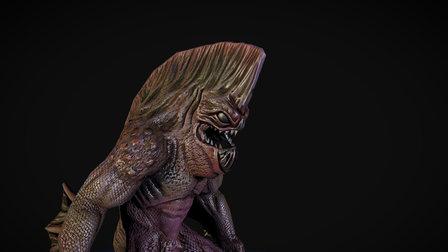 Fishman 3D Model