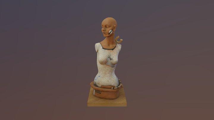 Lady by Dick Hay 3D Model