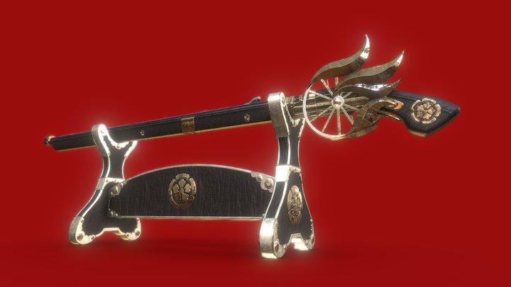 Nobunaga's Rifle 3D Model