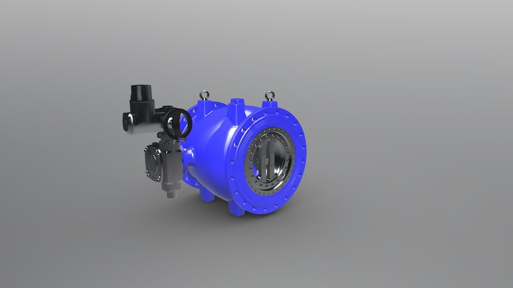 Large Valve 3D Model