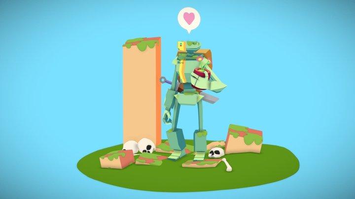 Adventure April 002 -Nigel & Marge 3D Model