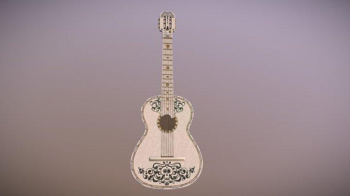 Ernesto de la cruz's Guitar 3D Model