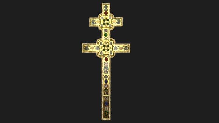 Saint Euphrosyne's Cross 3D Model