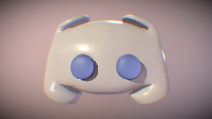 Discord 3d Logo 3D Model