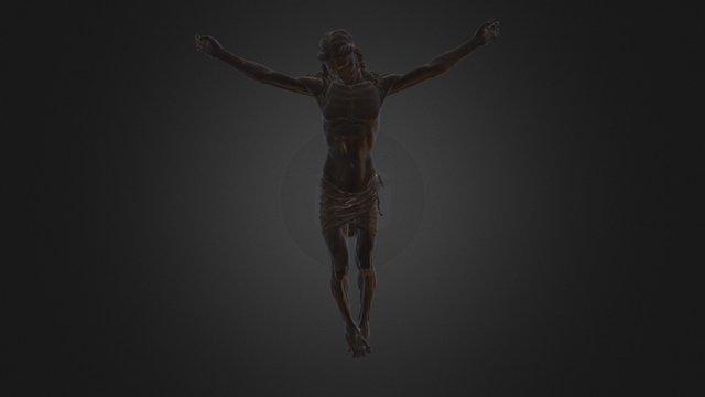 Crocifisso ligneo di F. da Sangallo (attribuito) 3D Model