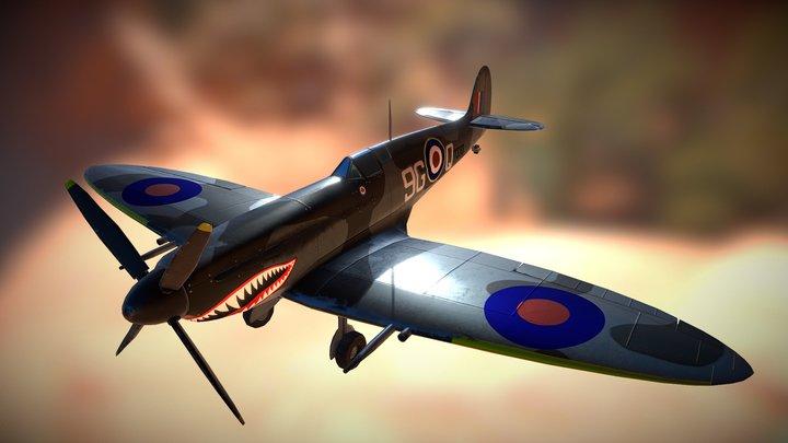Spitfire P7370 3D Model