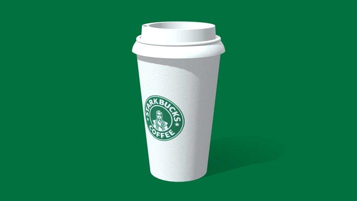Starkbucks cup 3D Model
