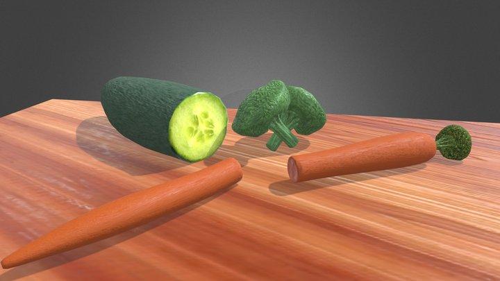 Veggies 3D Model