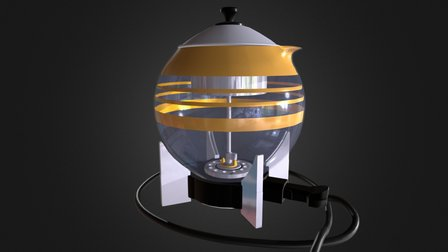 """""""Electro Brew"""" Coleman Lamp and Lantern Company 3D Model"""