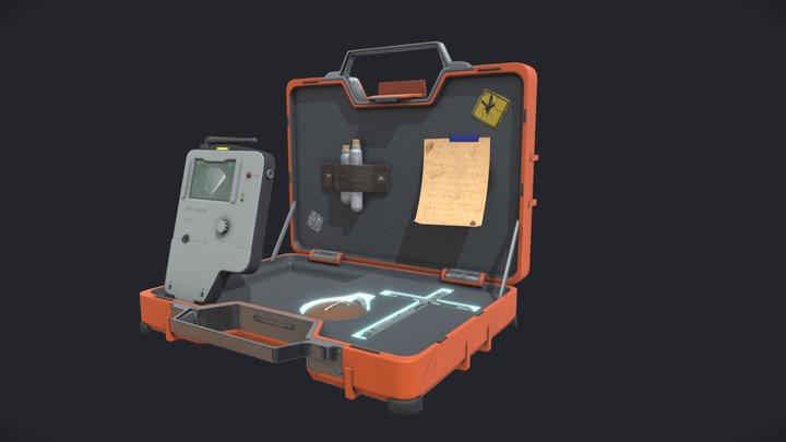 Vampire Hunter Suitcase 3D Model