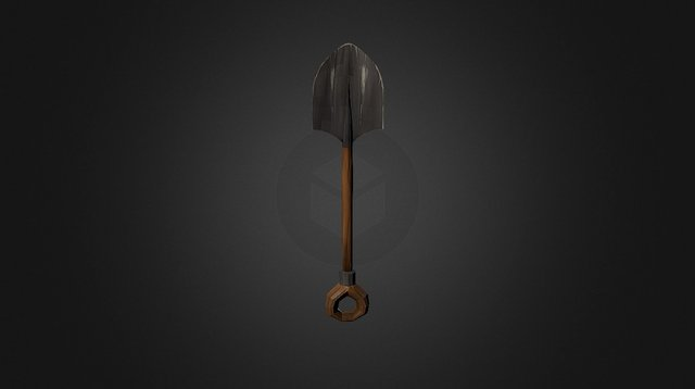 MINE - Shovel 3D Model