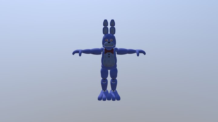 Coolioart-unwithered-bonnie 3D Model
