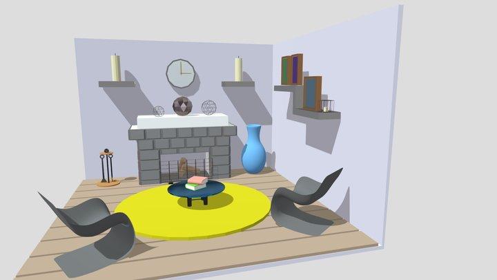 комната 3D Model