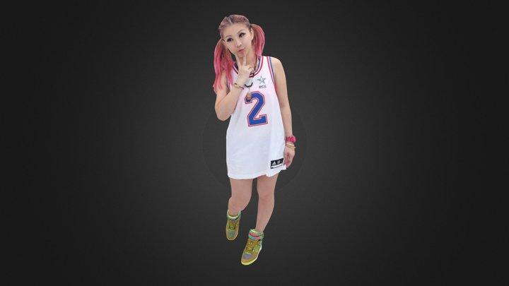 Pretty Girl_687 3D Model