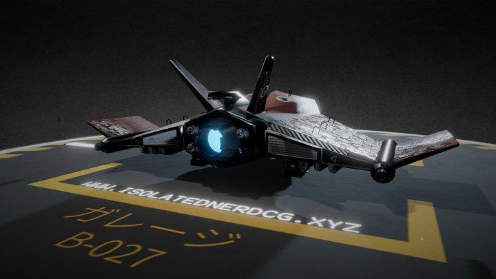 Garage B-027 Minimal 3D Model