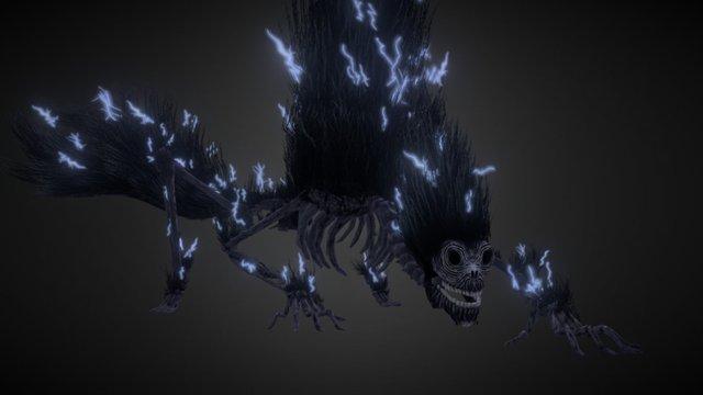 Bloodborne Fanart - Darkbeast Paarl 3D Model