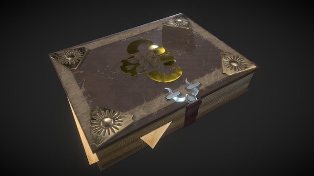 The Book of Truth PBR 3D Model