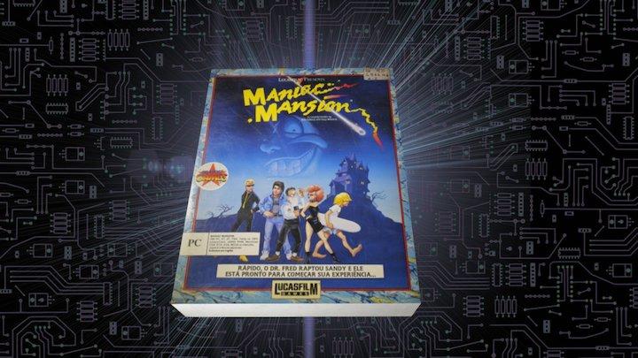 Maniac Mansion - 1988 - Museu do Computador 3D Model