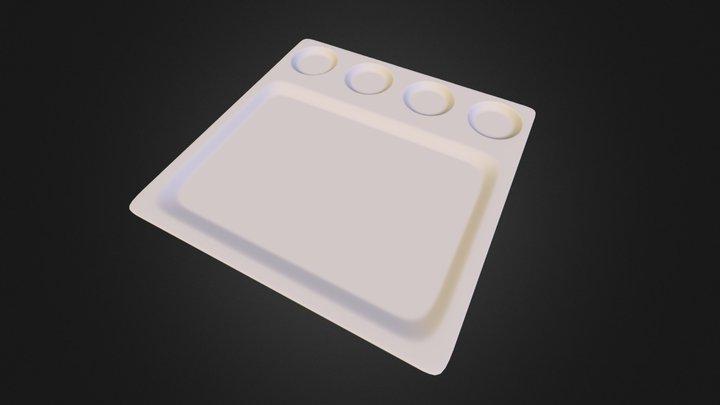 Porcelain tableware MXP1082 3D Model