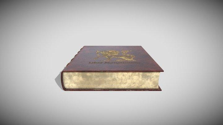 Fantasy Book 3D Model