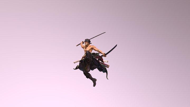 Roronoa Zoro 3D Model