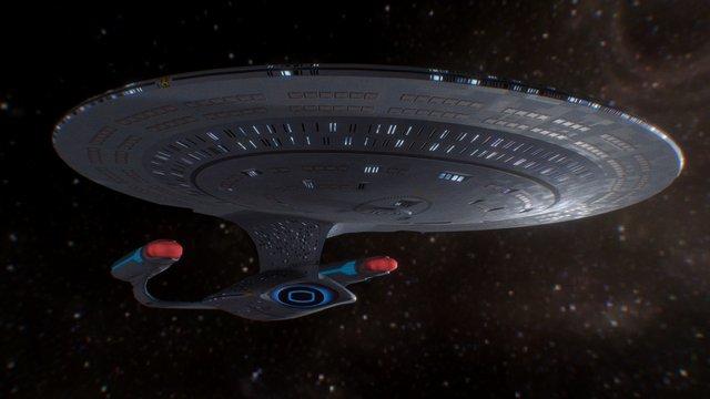 Enterprise-D 3D Model