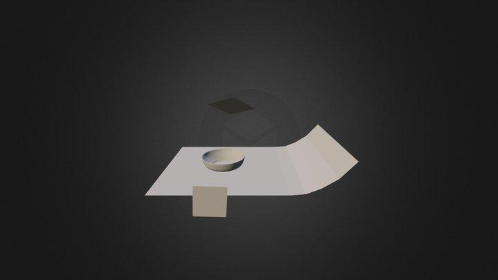 Bowl 02 3D Model