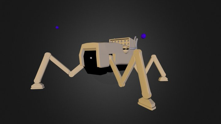 Walker V4 3D Model