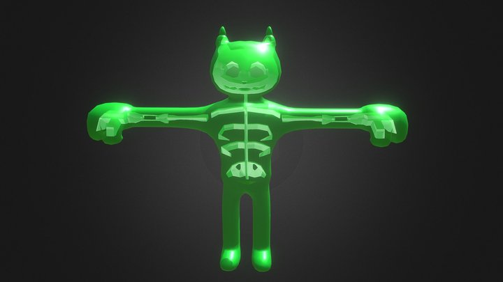 Punch minion (Green) Radiactive version 3D Model