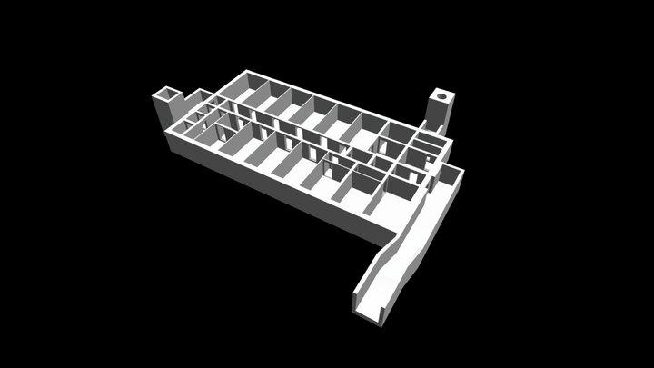 Führungsstelle des MfS Wachregiment 3D Model