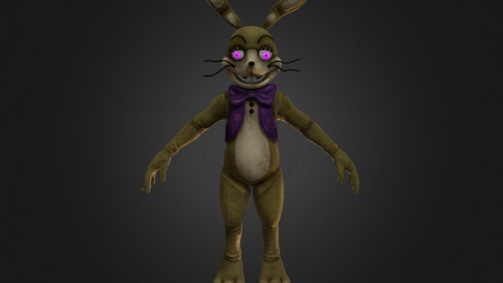 Glitchtrap | Help Wanted 3D Model