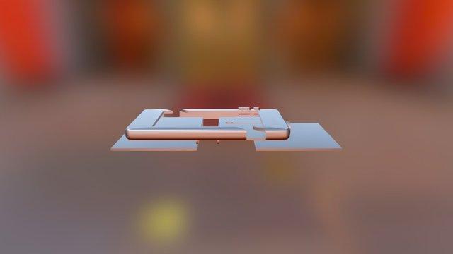 Pad Case Assembly 2 3D Model