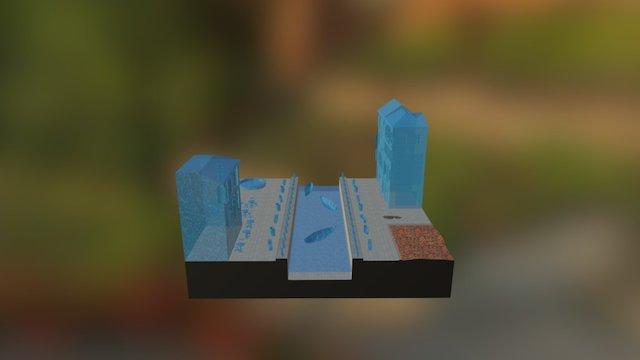 CityScene Venice 2016-2017 3D Model