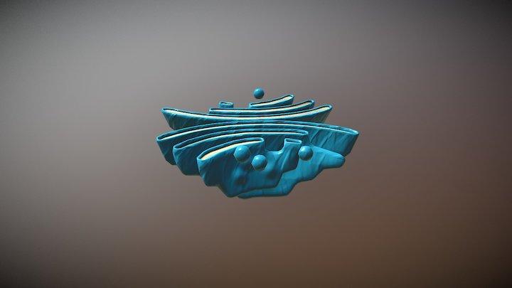 Golgi Apparatus 3D Model