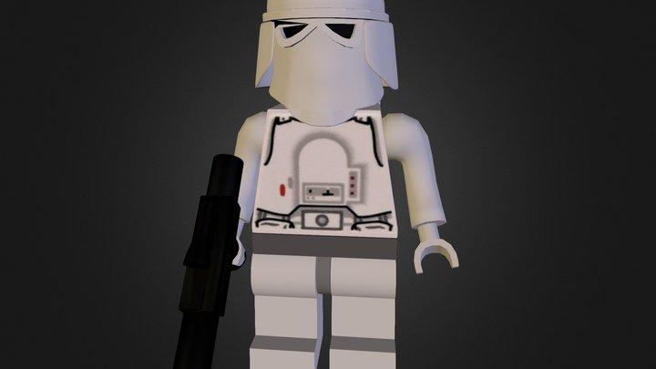 Snowtrooper 3D Model