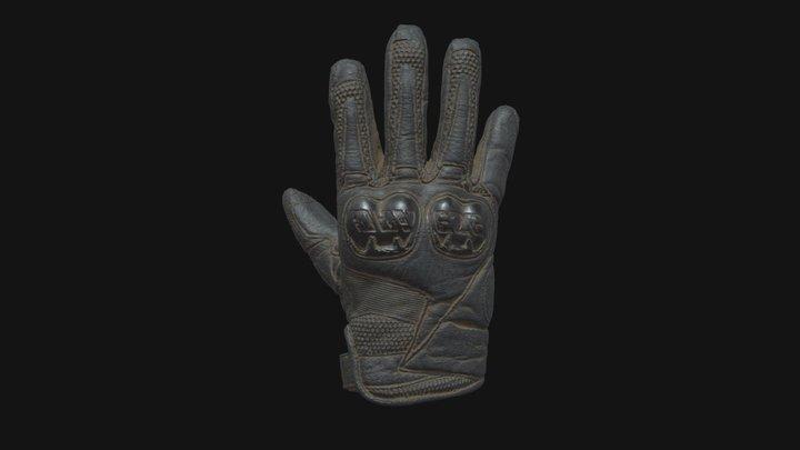 Motorcycle glove 3D Model