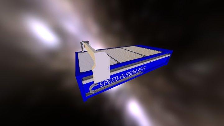 speed plasma 3015 3D Model